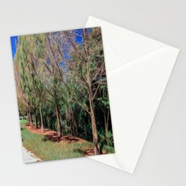 Going for a Walk Stationery Cards