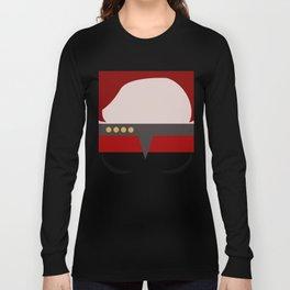 Captian Katherine Janeway - Minimalist Star Trek: Voyager VOY - trektangle - startrek trektangles Long Sleeve T-shirt