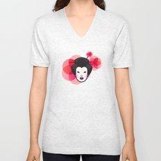 Geisha Icon Unisex V-Neck