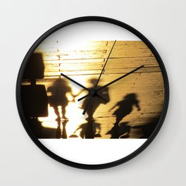 Chasing Ghosts Wall Clock
