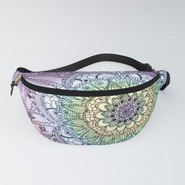 Purple Butterfly Mandala Fanny Pack