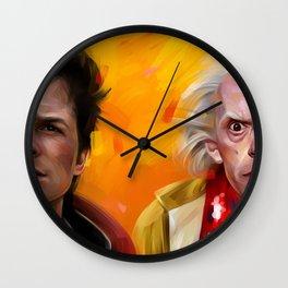 BTTF Wall Clock
