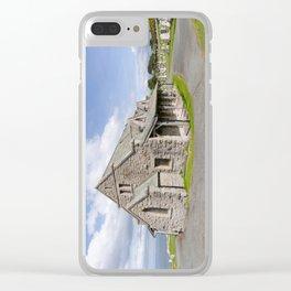 Saint Tudno church 2 Clear iPhone Case