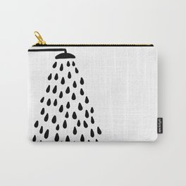 Shower in bathroom Carry-All Pouch