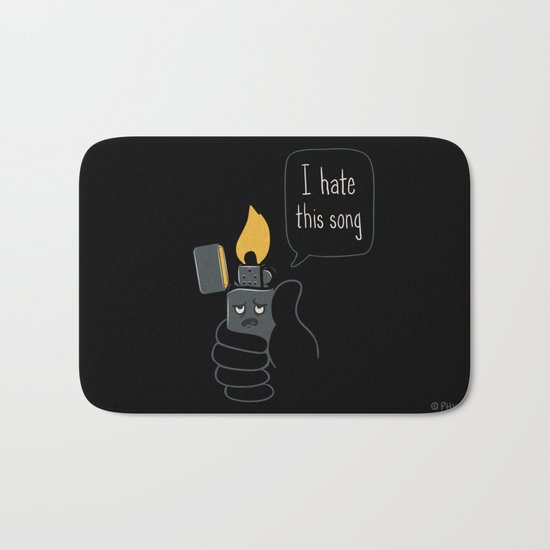 Mad Music Lighter Bath Mat