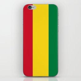 Flag of bolivia-bolivian,spanish,america,south america,latin america,coffee,Santa cruz,Sucre,La paz iPhone Skin