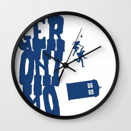 Geronimo Doctor Who Wall Clock