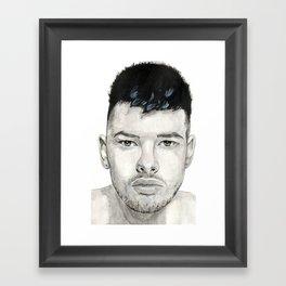 Ethan Framed Art Print