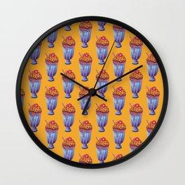 jaguar milkshake Wall Clock