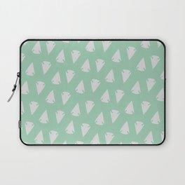 Arrow heads - Mint Green / Hemlock Laptop Sleeve