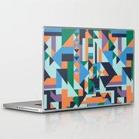 hunter Laptop & iPad Skins featuring Hunter by La Señora