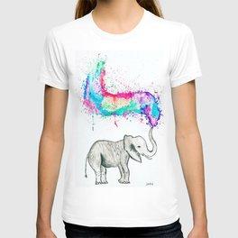 Spray of colour! T-shirt