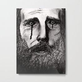 The less fortunate Metal Print