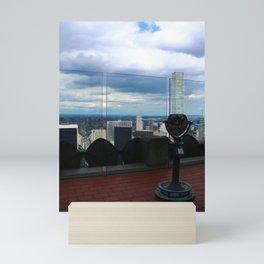 Top of the Rock View over Manhattan Mini Art Print