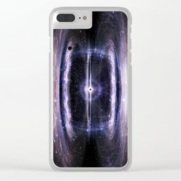Galactic guts Clear iPhone Case