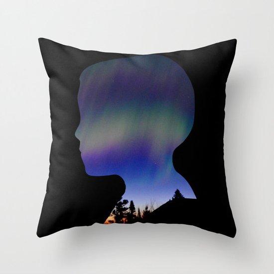 Dreaming Boy Throw Pillow