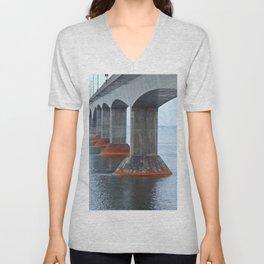 Under the Bridge in PEI Unisex V-Neck