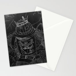 Inverted Pumpkin King - Pumpking Stationery Cards