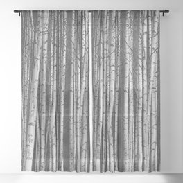 Birch || Sheer Curtain