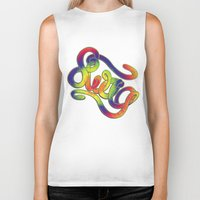 swag Biker Tanks featuring Swag by Haze Design