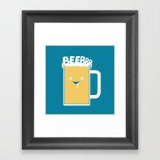 Beerrr Framed Art Print