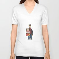 marty mcfly V-neck T-shirts featuring Marty by Sr.Pandita
