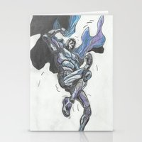 hero Stationery Cards featuring Hero? by Steven Goddard