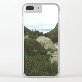 Beautiful lake of National Park High Tatras Clear iPhone Case