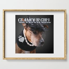 Glamour Girl Serving Tray