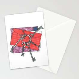 Keys & Mail Stationery Cards