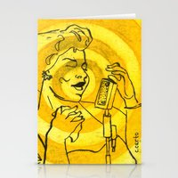 fitzgerald Stationery Cards featuring Ella Fitzgerald by Cristina Curto