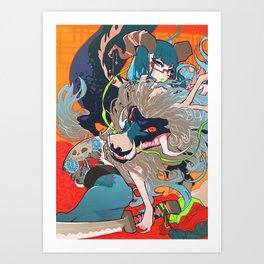 hyeolyeon Art Print