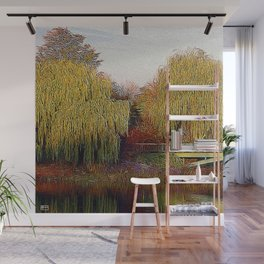 Twin Willows Wall Mural