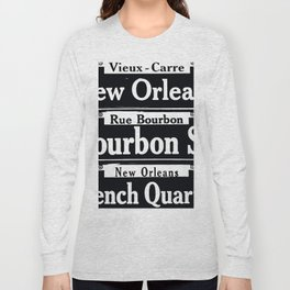 NEW ORLEANS FRENCH QUARTERS Long Sleeve T-shirt