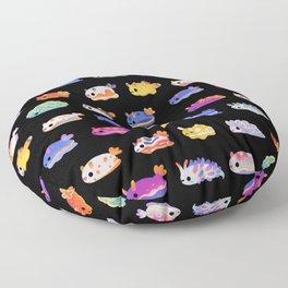 Sea Slug Day Floor Pillow