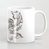 baroque Mugs featuring Baroque by Raeesa Brey
