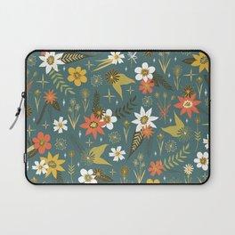 bright fun floral pattern Laptop Sleeve