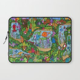 Underwater caverns Laptop Sleeve