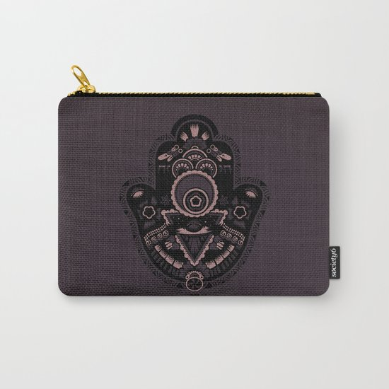 The Secret Hamsa Carry-All Pouch