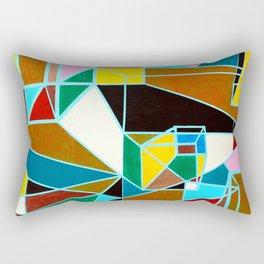 Original Geometric Rectangular Pillow