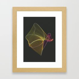 Float Like a Butterfly Sting Like A Bee Framed Art Print