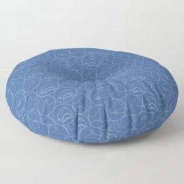 Brucie Noms Pattern Floor Pillow