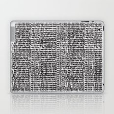 My style is better than yours punition Laptop & iPad Skin