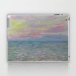 """Claude Monet """"Coucher de soleil à Pourville, pleine mer"""" Laptop & iPad Skin"""
