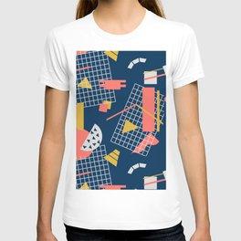 Teal Green Memphis Toss - Limited Color Palette 2019 T-shirt