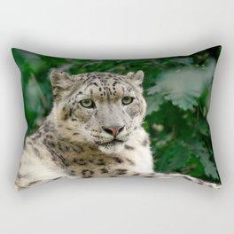 Feb Snep - Snow Leopard Rectangular Pillow