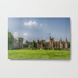 Knebworth House Metal Print