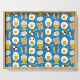 Kawaii Eggs For Breakfast Serving Tray