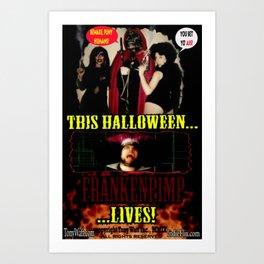 Frankenpimp (2009 )  - 'Original Theatrical Lobby Poster'   Art Print