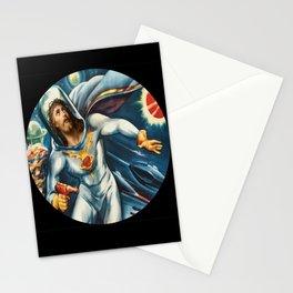 Spaceman Jesus Stationery Cards